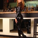Catsuit and Boots
